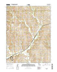 Tina Missouri Current topographic map, 1:24000 scale, 7.5 X 7.5 Minute, Year 2015