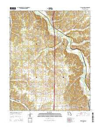 Tipton Ford Missouri Current topographic map, 1:24000 scale, 7.5 X 7.5 Minute, Year 2015