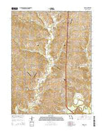 Tracy Missouri Current topographic map, 1:24000 scale, 7.5 X 7.5 Minute, Year 2014 from Missouri Map Store