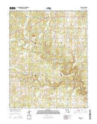 Trask Missouri Current topographic map, 1:24000 scale, 7.5 X 7.5 Minute, Year 2015