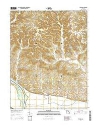 Treloar Missouri Current topographic map, 1:24000 scale, 7.5 X 7.5 Minute, Year 2015