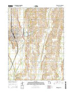 Trenton East Missouri Current topographic map, 1:24000 scale, 7.5 X 7.5 Minute, Year 2014 from Missouri Map Store