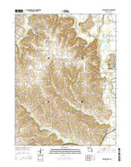 Trenton West Missouri Current topographic map, 1:24000 scale, 7.5 X 7.5 Minute, Year 2014 from Missouri Map Store