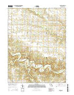 Truxton Missouri Current topographic map, 1:24000 scale, 7.5 X 7.5 Minute, Year 2014 from Missouri Map Store
