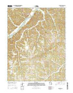 Tuscumbia Missouri Current topographic map, 1:24000 scale, 7.5 X 7.5 Minute, Year 2015 from Missouri Map Store