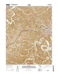 Union Missouri Current topographic map, 1:24000 scale, 7.5 X 7.5 Minute, Year 2015