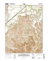 Utica East Missouri Current topographic map, 1:24000 scale, 7.5 X 7.5 Minute, Year 2015