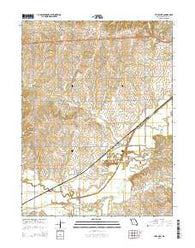 Utica West Missouri Current topographic map, 1:24000 scale, 7.5 X 7.5 Minute, Year 2015
