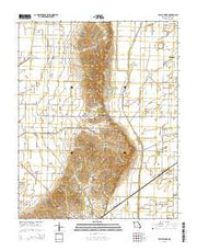 Valley Ridge Missouri Current topographic map, 1:24000 scale, 7.5 X 7.5 Minute, Year 2015 from Missouri Maps Store