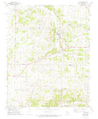 Verona Missouri Historical topographic map, 1:24000 scale, 7.5 X 7.5 Minute, Year 1972