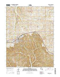 Versailles Missouri Current topographic map, 1:24000 scale, 7.5 X 7.5 Minute, Year 2015