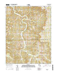 Vichy Missouri Current topographic map, 1:24000 scale, 7.5 X 7.5 Minute, Year 2015
