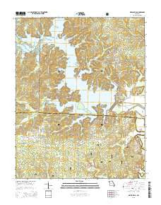Wappapello Missouri Current topographic map, 1:24000 scale, 7.5 X 7.5 Minute, Year 2015