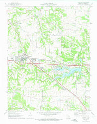 Wentzville Missouri Historical topographic map, 1:24000 scale, 7.5 X 7.5 Minute, Year 1972