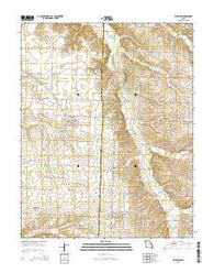 Wheaton Missouri Current topographic map, 1:24000 scale, 7.5 X 7.5 Minute, Year 2015