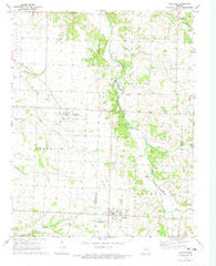 Wheaton Missouri Historical topographic map, 1:24000 scale, 7.5 X 7.5 Minute, Year 1972