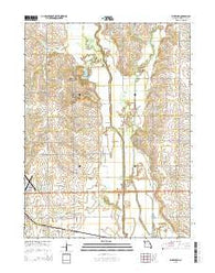 Wheeling Missouri Current topographic map, 1:24000 scale, 7.5 X 7.5 Minute, Year 2015