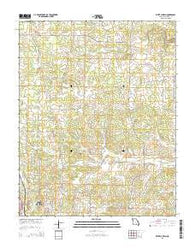 White Church Missouri Current topographic map, 1:24000 scale, 7.5 X 7.5 Minute, Year 2015