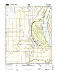 Wickliffe SW Missouri Current topographic map, 1:24000 scale, 7.5 X 7.5 Minute, Year 2015
