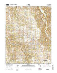 Willard Missouri Current topographic map, 1:24000 scale, 7.5 X 7.5 Minute, Year 2015