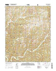 Willhoit Missouri Current topographic map, 1:24000 scale, 7.5 X 7.5 Minute, Year 2015