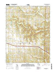 Williamsburg Missouri Current topographic map, 1:24000 scale, 7.5 X 7.5 Minute, Year 2015