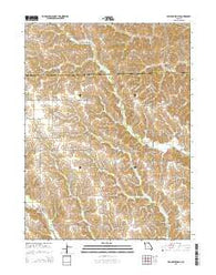 Willmathsville Missouri Current topographic map, 1:24000 scale, 7.5 X 7.5 Minute, Year 2015