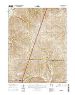Winston Missouri Current topographic map, 1:24000 scale, 7.5 X 7.5 Minute, Year 2014 from Missouri Map Store