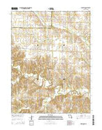 Woodlawn Missouri Current topographic map, 1:24000 scale, 7.5 X 7.5 Minute, Year 2014 from Missouri Map Store