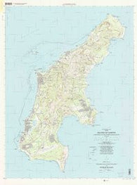 Island Of Saipan Northern Mariana Islands Historical topographic map, 1:25000 scale, 7.5 X 7.5 Minute, Year 1999