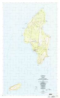 Island Of Tinian Northern Mariana Islands Historical topographic map, 1:25000 scale, 7.5 X 7.5 Minute, Year 1983