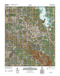 Aberdeen Mississippi Historical topographic map, 1:24000 scale, 7.5 X 7.5 Minute, Year 2012