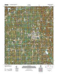 Ackerman Mississippi Historical topographic map, 1:24000 scale, 7.5 X 7.5 Minute, Year 2012