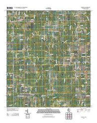 Agricola Mississippi Historical topographic map, 1:24000 scale, 7.5 X 7.5 Minute, Year 2012
