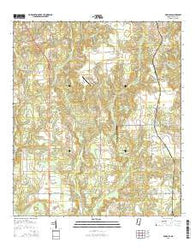 Agricola Mississippi Current topographic map, 1:24000 scale, 7.5 X 7.5 Minute, Year 2015