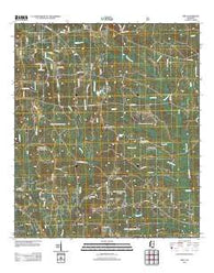 Airey Mississippi Historical topographic map, 1:24000 scale, 7.5 X 7.5 Minute, Year 2012