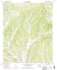 Altitude Mississippi Historical topographic map, 1:24000 scale, 7.5 X 7.5 Minute, Year 1950