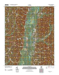Amory SE Mississippi Historical topographic map, 1:24000 scale, 7.5 X 7.5 Minute, Year 2012
