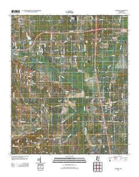 Artesia Mississippi Historical topographic map, 1:24000 scale, 7.5 X 7.5 Minute, Year 2012
