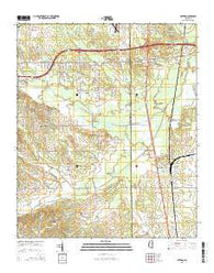 Artesia Mississippi Current topographic map, 1:24000 scale, 7.5 X 7.5 Minute, Year 2015