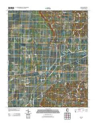 Asa Mississippi Historical topographic map, 1:24000 scale, 7.5 X 7.5 Minute, Year 2012