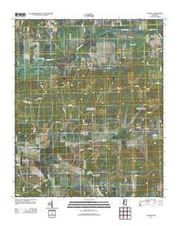 Atlanta Mississippi Historical topographic map, 1:24000 scale, 7.5 X 7.5 Minute, Year 2012