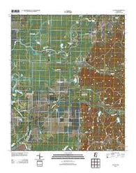 Avalon Mississippi Historical topographic map, 1:24000 scale, 7.5 X 7.5 Minute, Year 2012