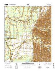 Avalon Mississippi Current topographic map, 1:24000 scale, 7.5 X 7.5 Minute, Year 2015