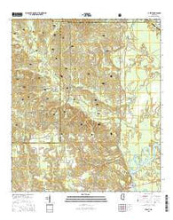Avent Mississippi Current topographic map, 1:24000 scale, 7.5 X 7.5 Minute, Year 2015