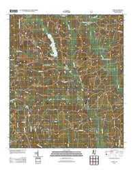 Avera Mississippi Historical topographic map, 1:24000 scale, 7.5 X 7.5 Minute, Year 2012