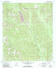 Avera Mississippi Historical topographic map, 1:24000 scale, 7.5 X 7.5 Minute, Year 1964