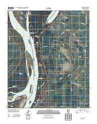 Avon Mississippi Historical topographic map, 1:24000 scale, 7.5 X 7.5 Minute, Year 2011