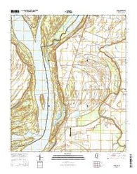 Avon Mississippi Current topographic map, 1:24000 scale, 7.5 X 7.5 Minute, Year 2015