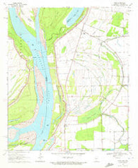 Avon Mississippi Historical topographic map, 1:24000 scale, 7.5 X 7.5 Minute, Year 1970